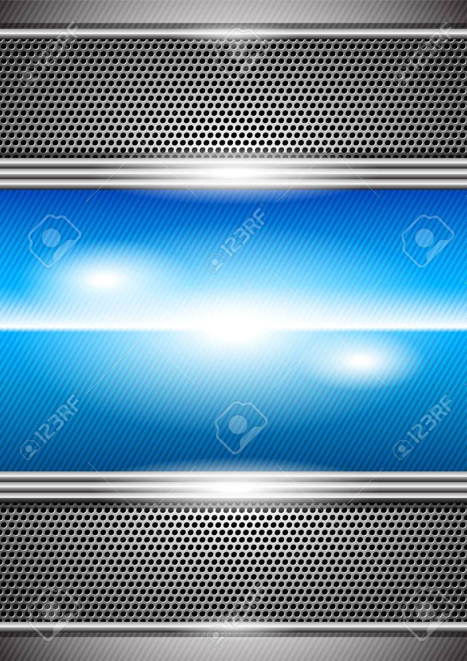 metal background Stock Vector - 9849117