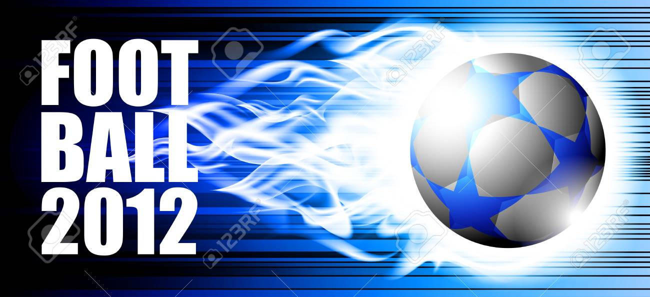 football Stock Vector - 10040645