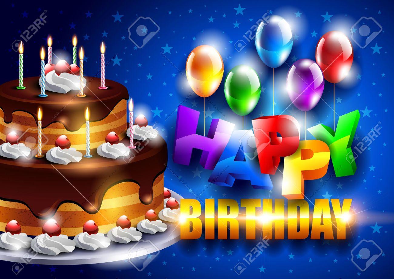 Birthday background Stock Vector - 11924310