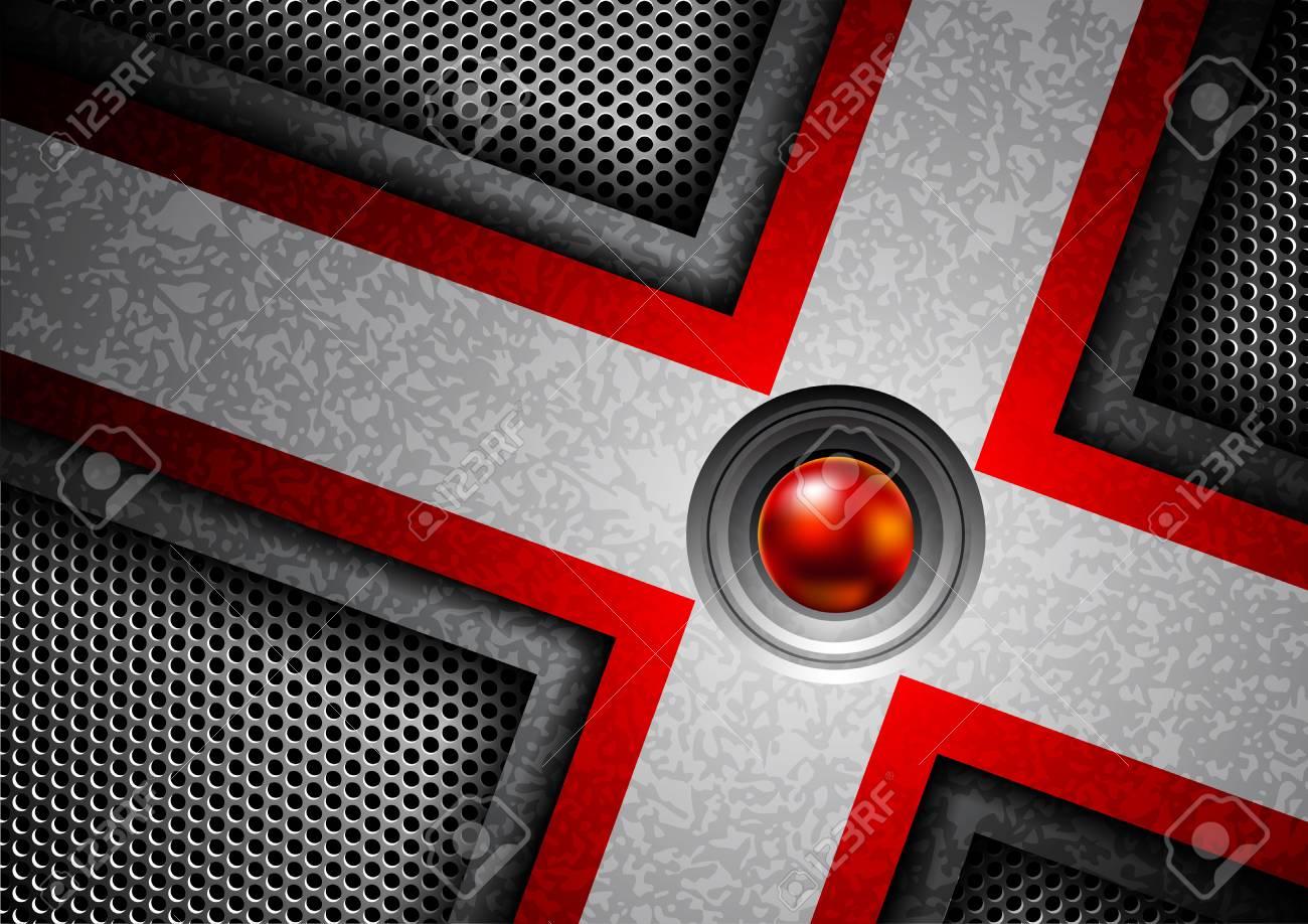 metallic background Stock Vector - 12807615