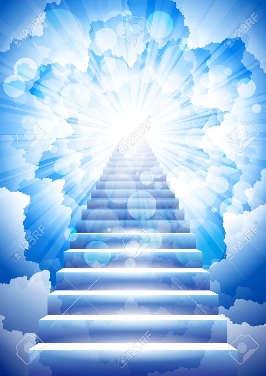 stairway to heaven Stock Vector - 13035559