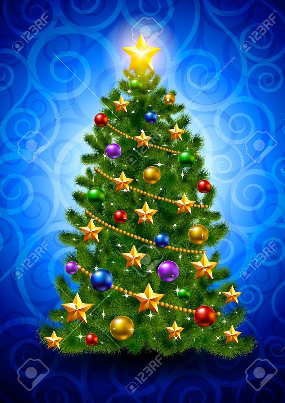 Christmas tree Stock Vector - 16137230
