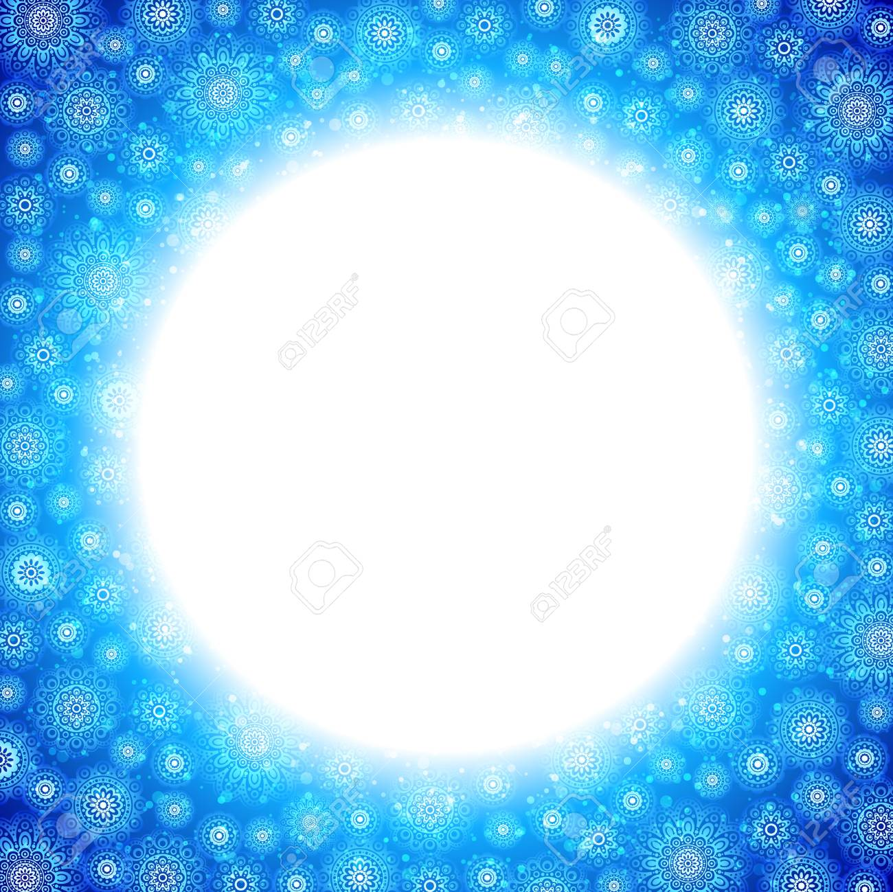 background with snowflakes Stock Vector - 16268259