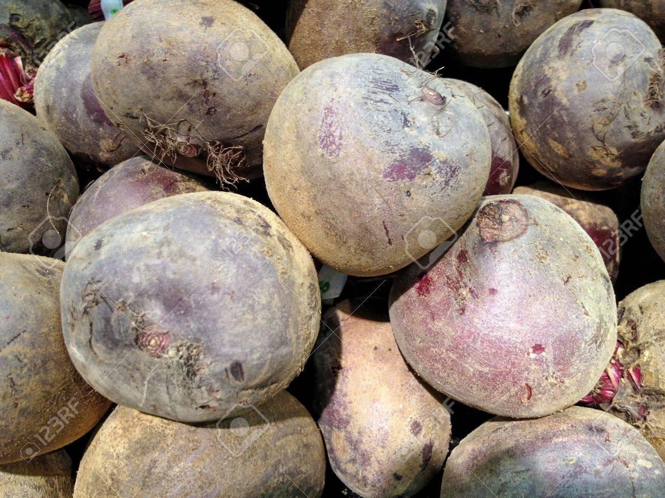 beetroot in supermarket Stock Photo - 13232074