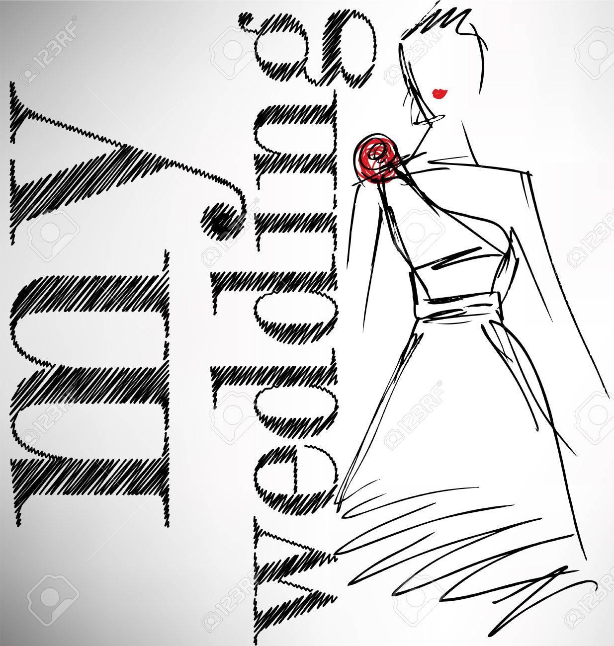 my wedding. vector illustration Stock Vector - 13624672