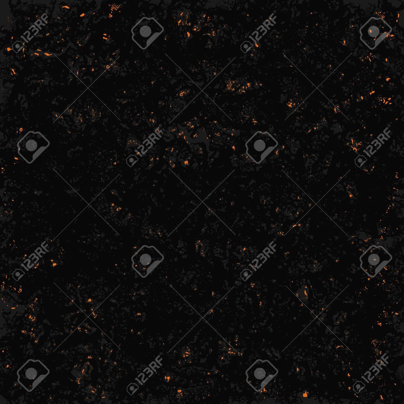 Resplandeciente Brillo De La Textura De Carbón En El Fondo Negro Del ...