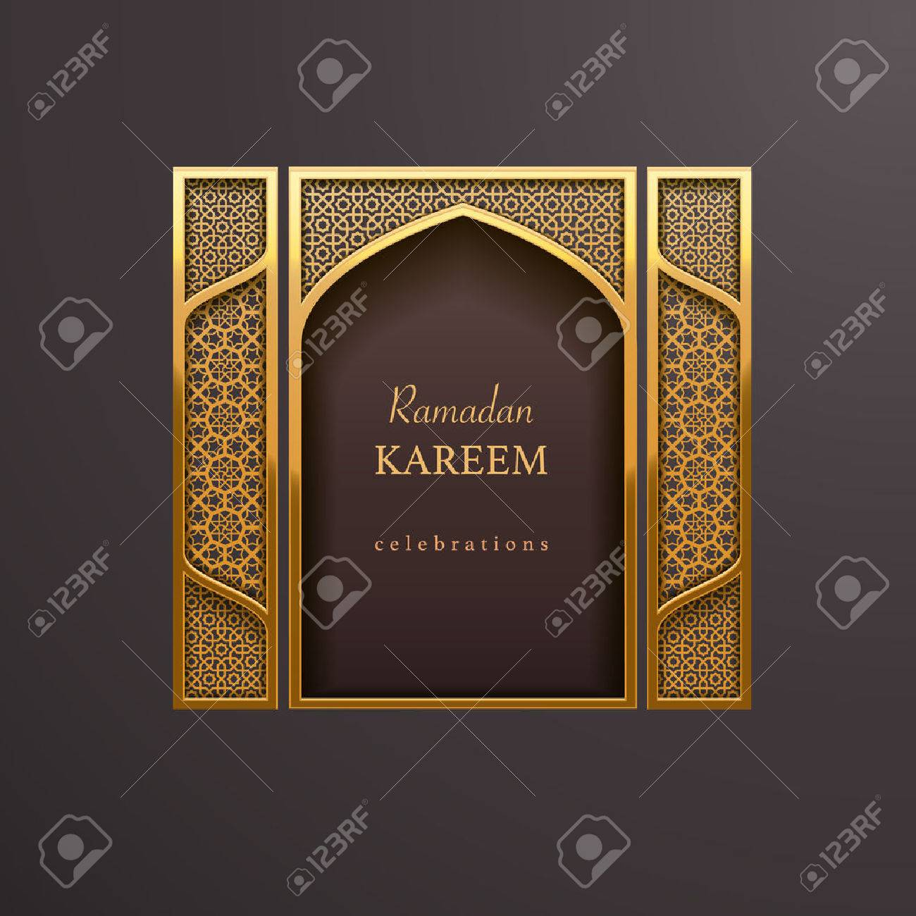 Ramadan design background - 55678387