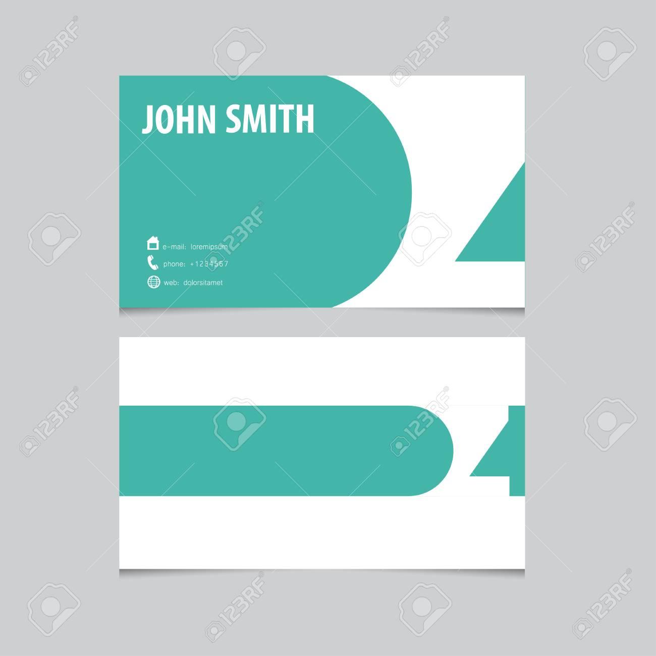 Modle De Carte Visite Lettre Z Vecteur Conception Logo