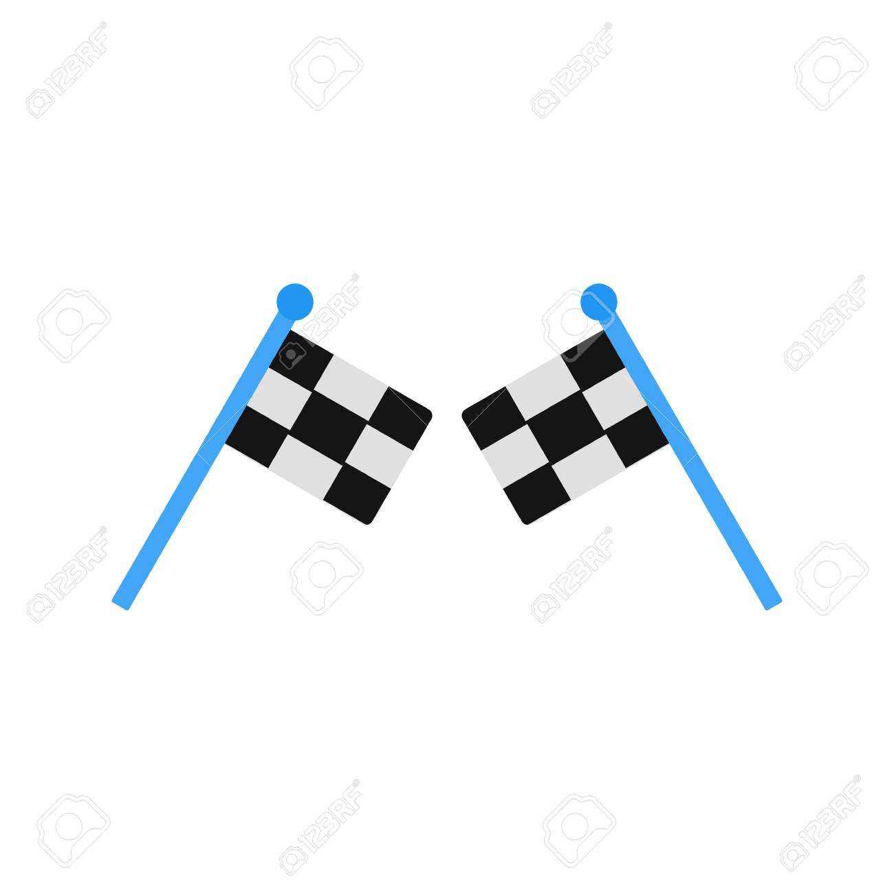 Racing Sign Icon Vector Illustration For Personal And Commercial