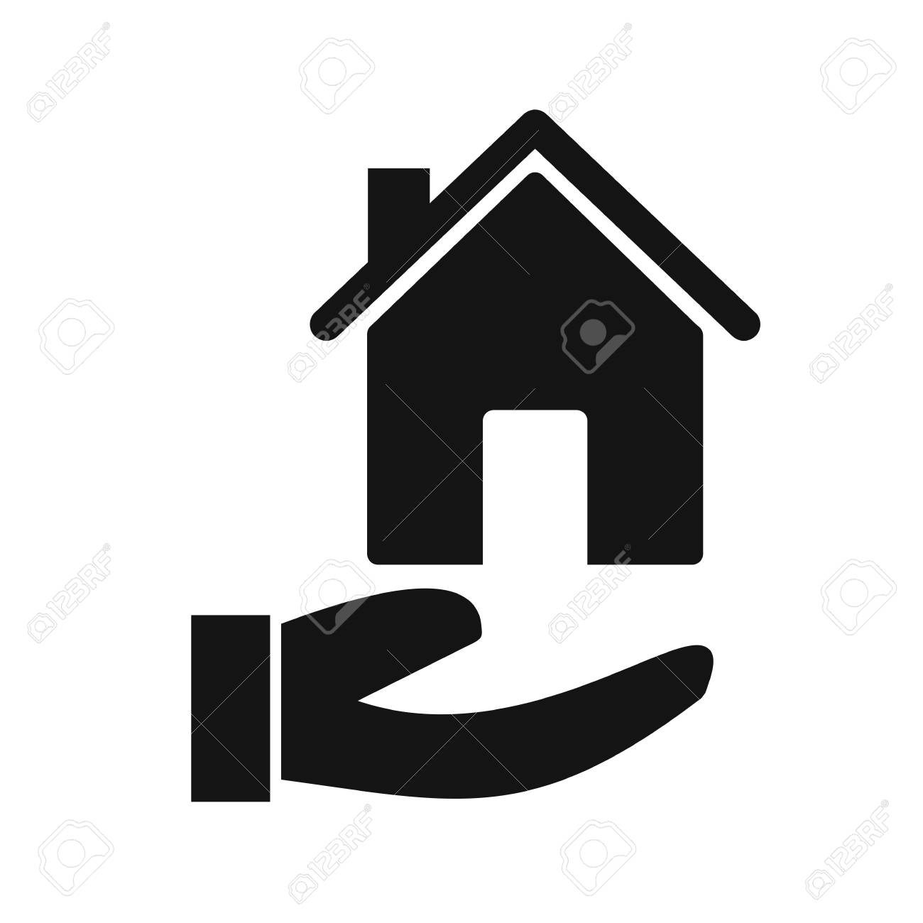 Mortgage Vector Icon Sign Icon Vector Illustration For Personal