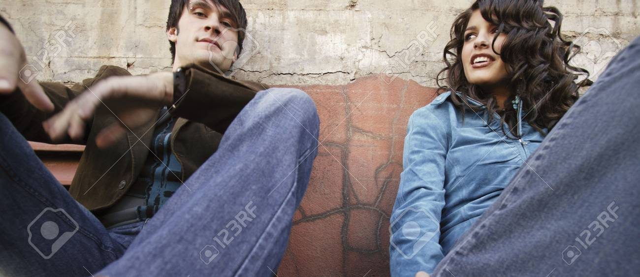 Young adult couple Stock Photo - 5651286