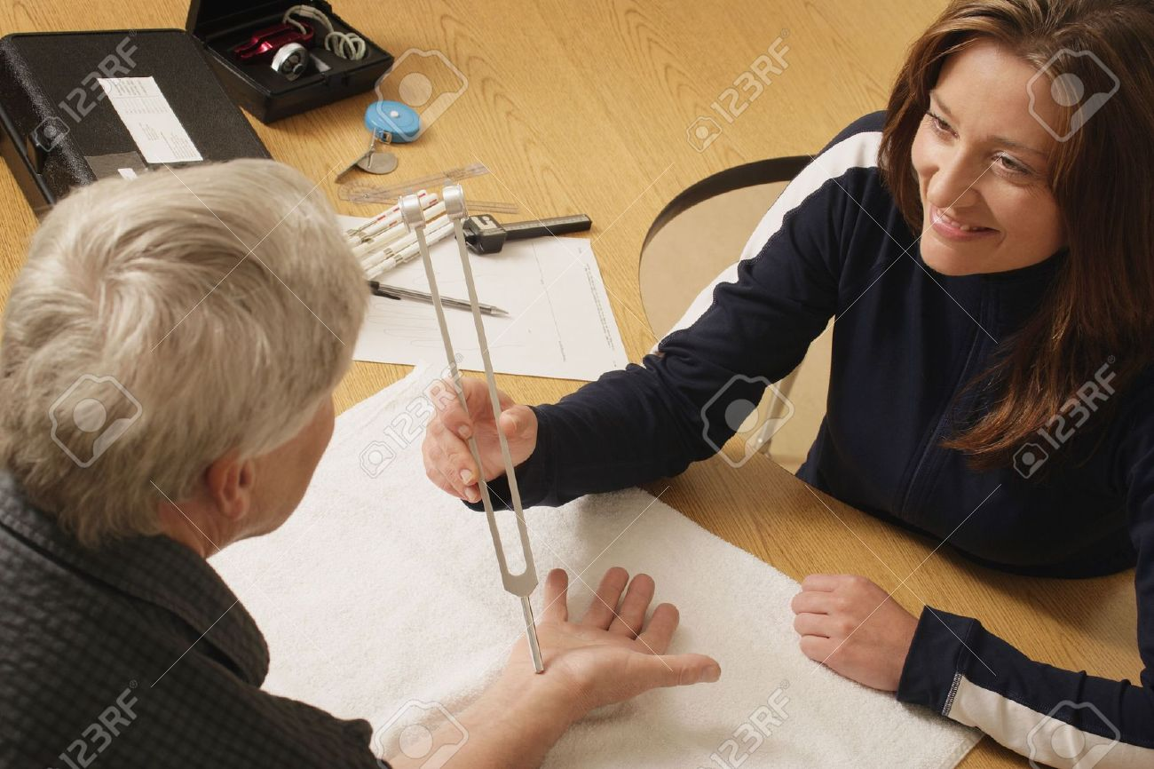 An occupational therapist at work Stock Photo - 5645447