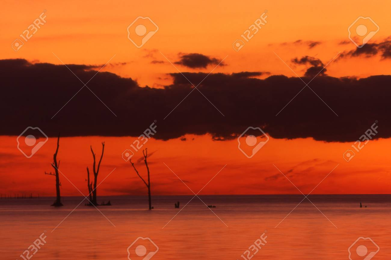 Pelee Island dp031 Reserve at Sunset Stock Photo - 6214992