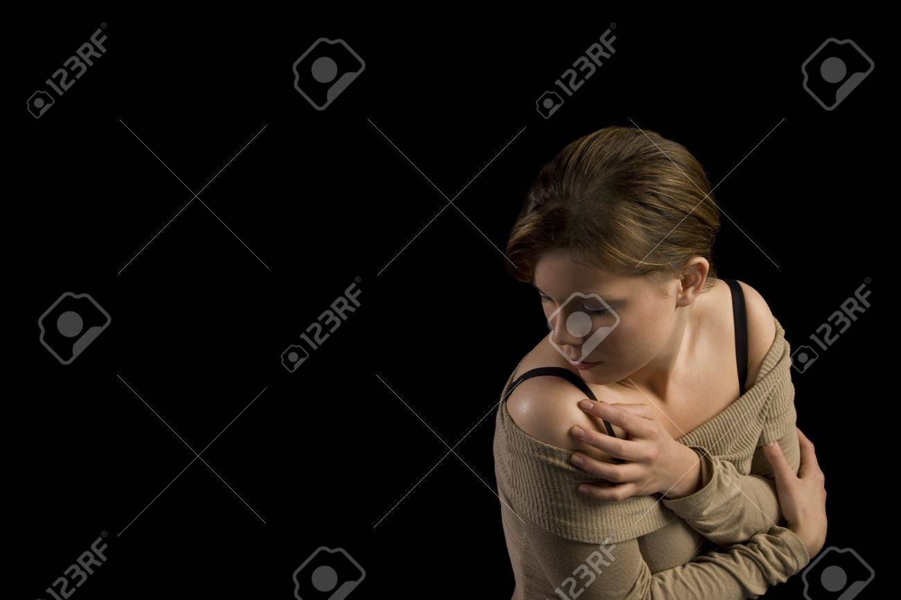 Woman turning away Stock Photo - 7189740