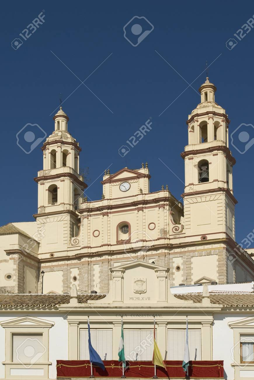 Cadiz, Andalucia, Spain; Olvera Town Hall Stock Photo - 7191587