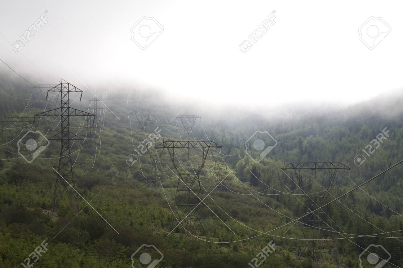 Fog along Lolo Pass, Mount Hood, Oregon Cascades, USA Stock Photo - 7192495