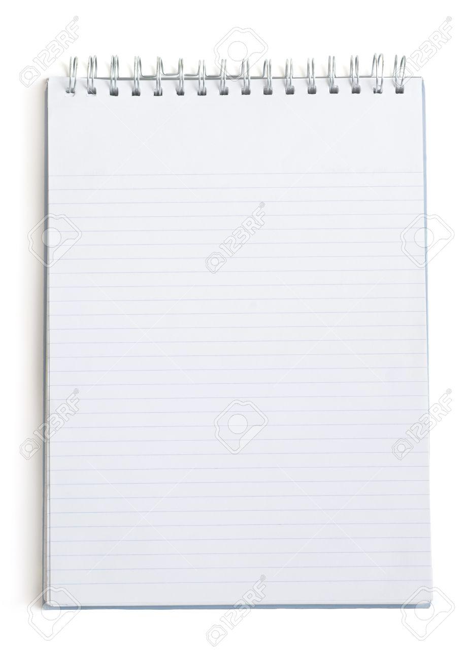 Blank writing