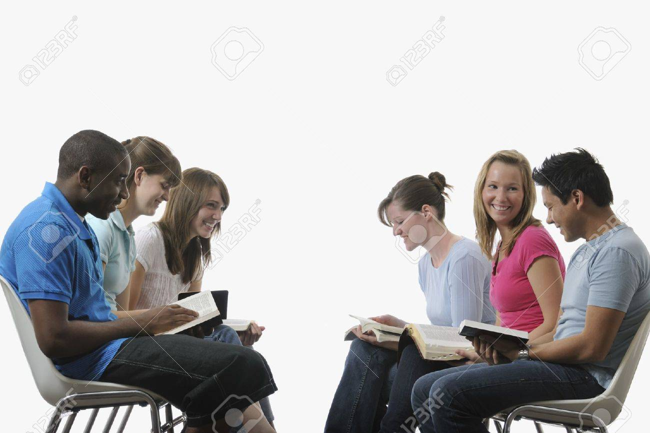 A diverse group of young adult Christians Stock Photo - 7189867