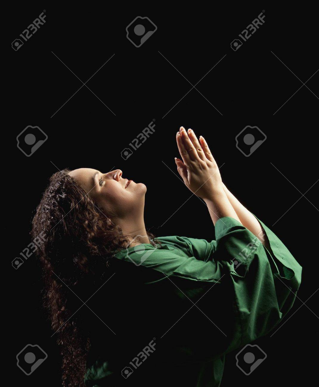 woman praying Stock Photo - 7189973