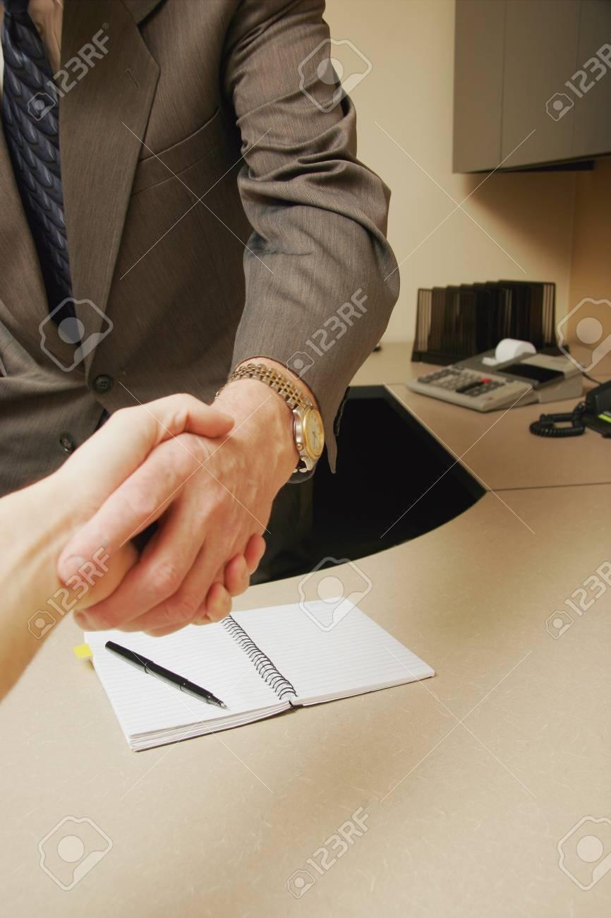 Business handshake Stock Photo - 7191691