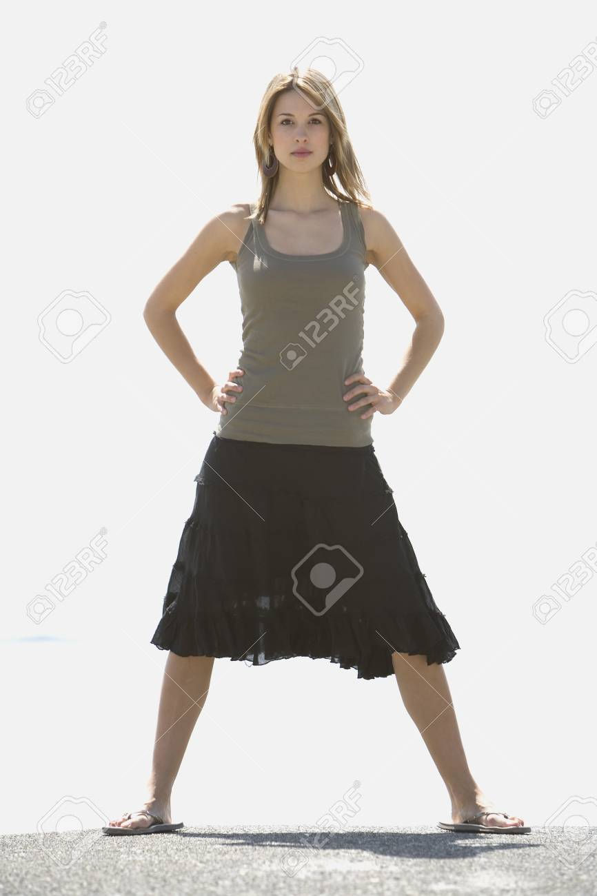 Woman in summer clothing Stock Photo - 7190357