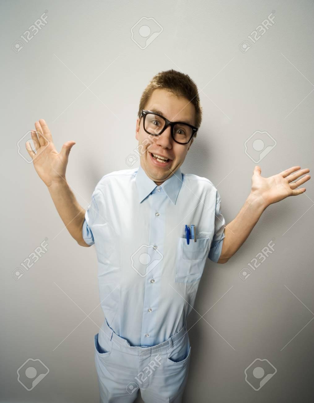 Man wearing glasses Stock Photo - 7196883