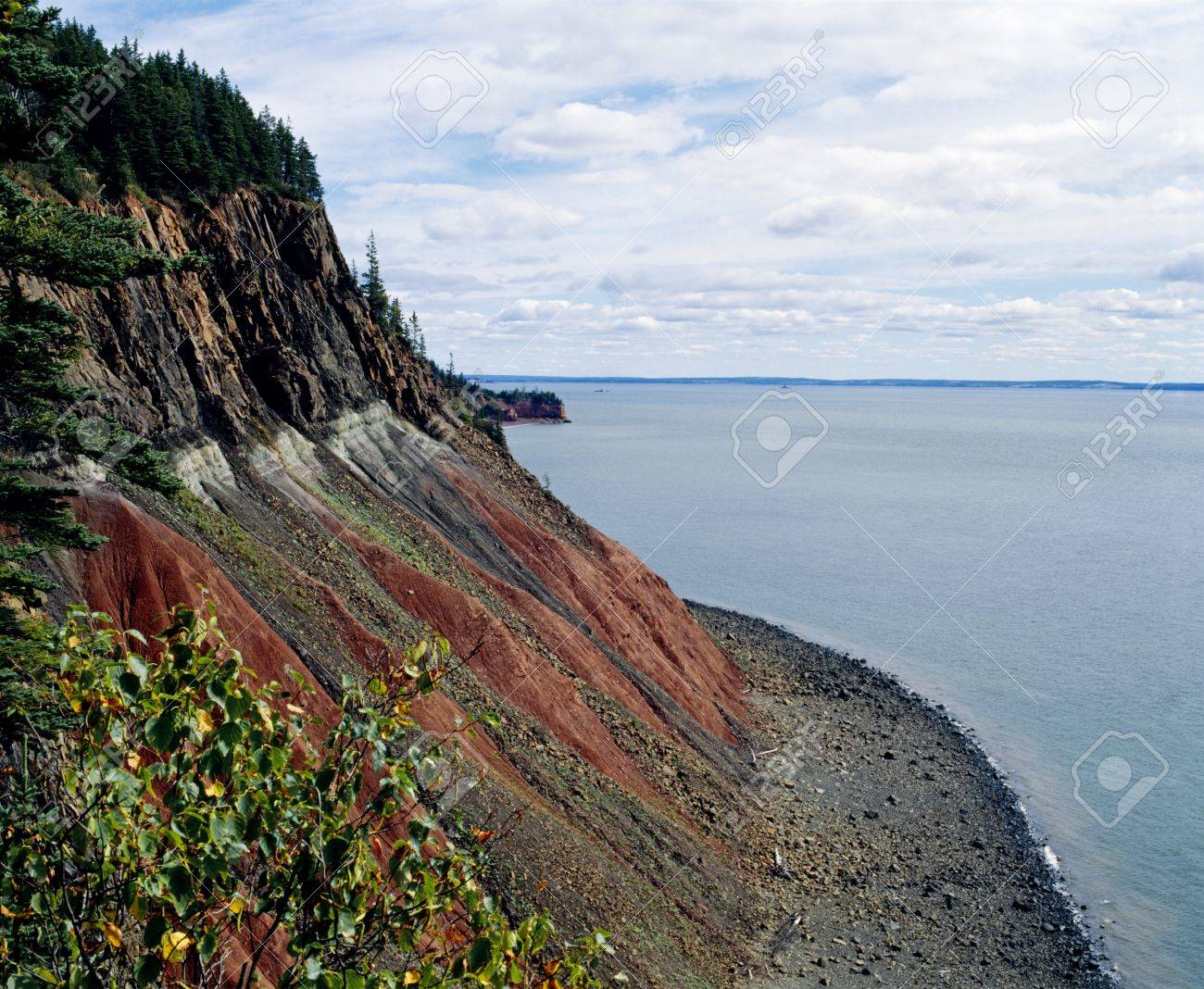 Bay of Fundy, Nova Scotia, Canada Stock Photo - 7210185