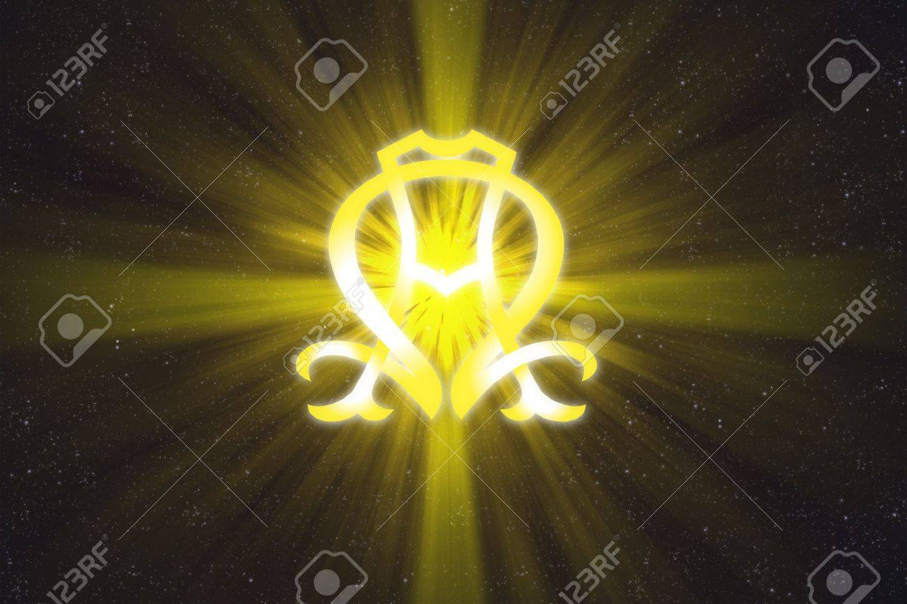 Alpha And Omega Symbol Stock Photo Picture And Royalty Free Image
