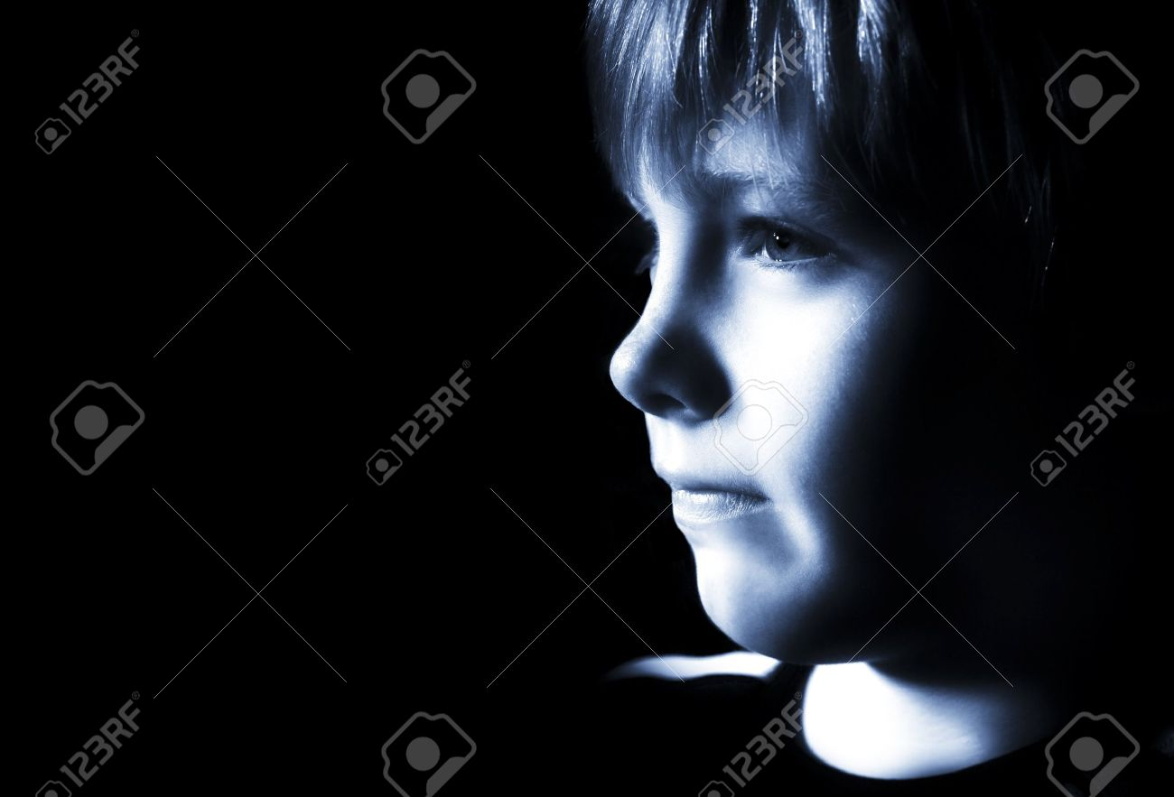 Sad boy Stock Photo - 7205097