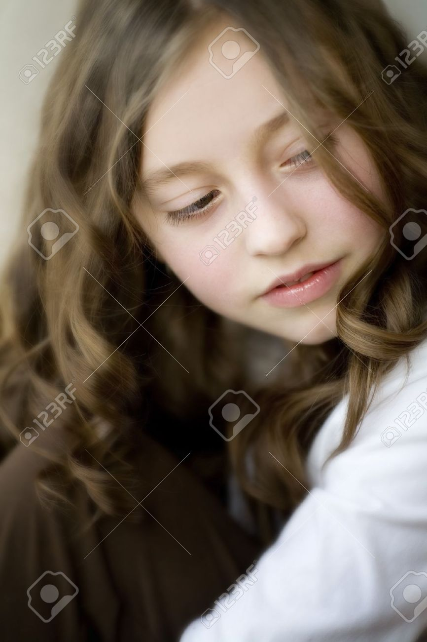 Portrait of a young girl Stock Photo - 7205541