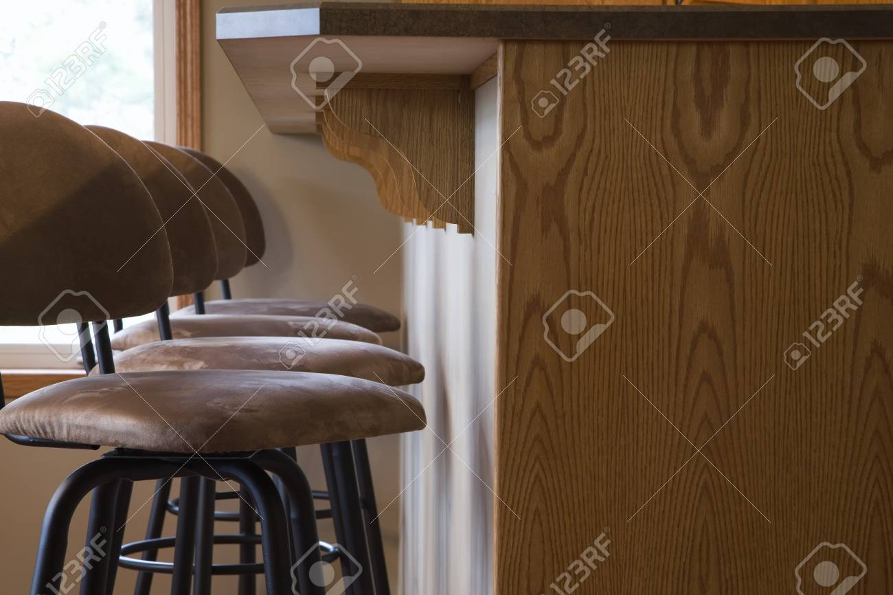 Chairs and raised counter Stock Photo - 7208141