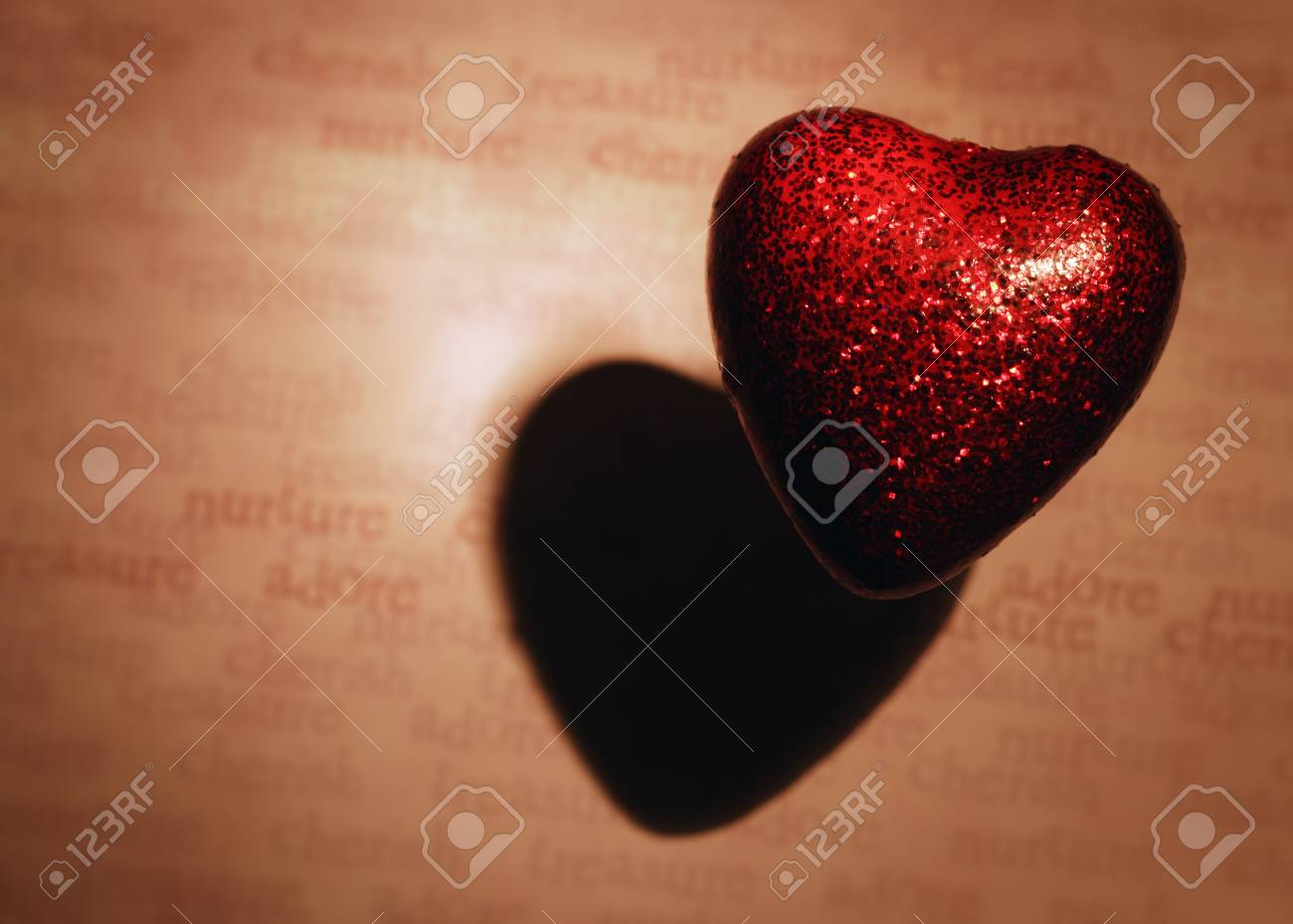 Closeup of heart Stock Photo - 7551490
