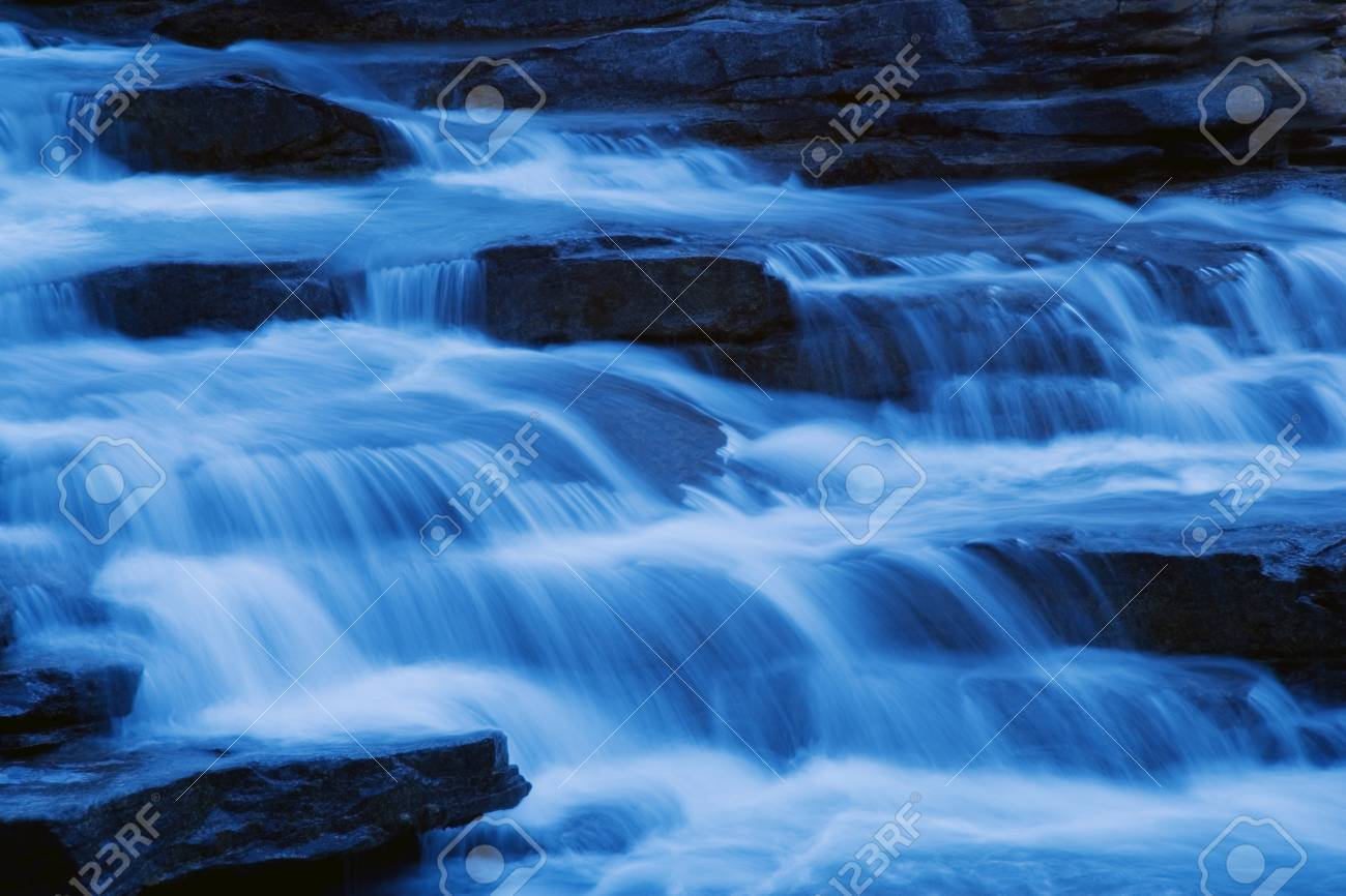 Cascading waterfall Stock Photo - 7551603