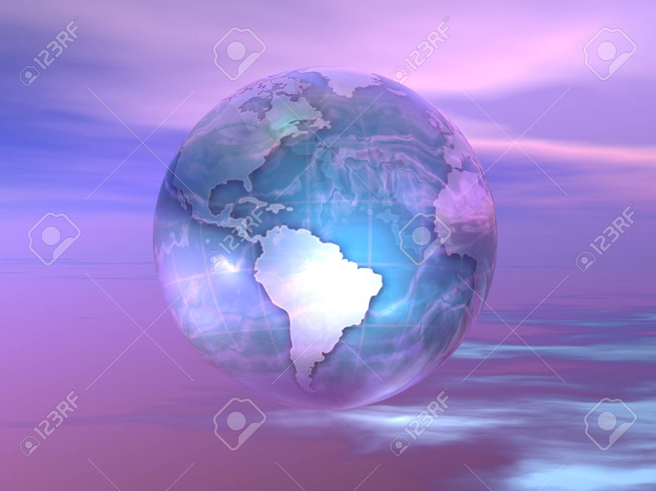 3D Globe Stock Photo - 7551402