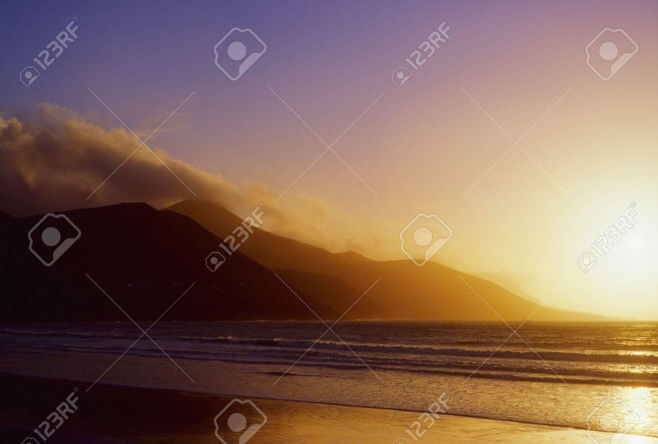 Co Kerry, Glenbeigh Beach, Ireland Stock Photo - 7559508