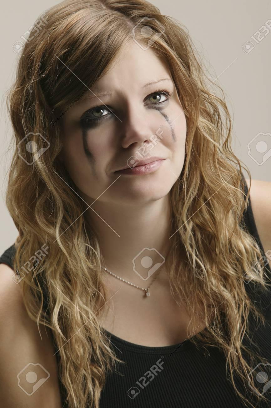 Portrait of a sad woman Stock Photo - 7559339