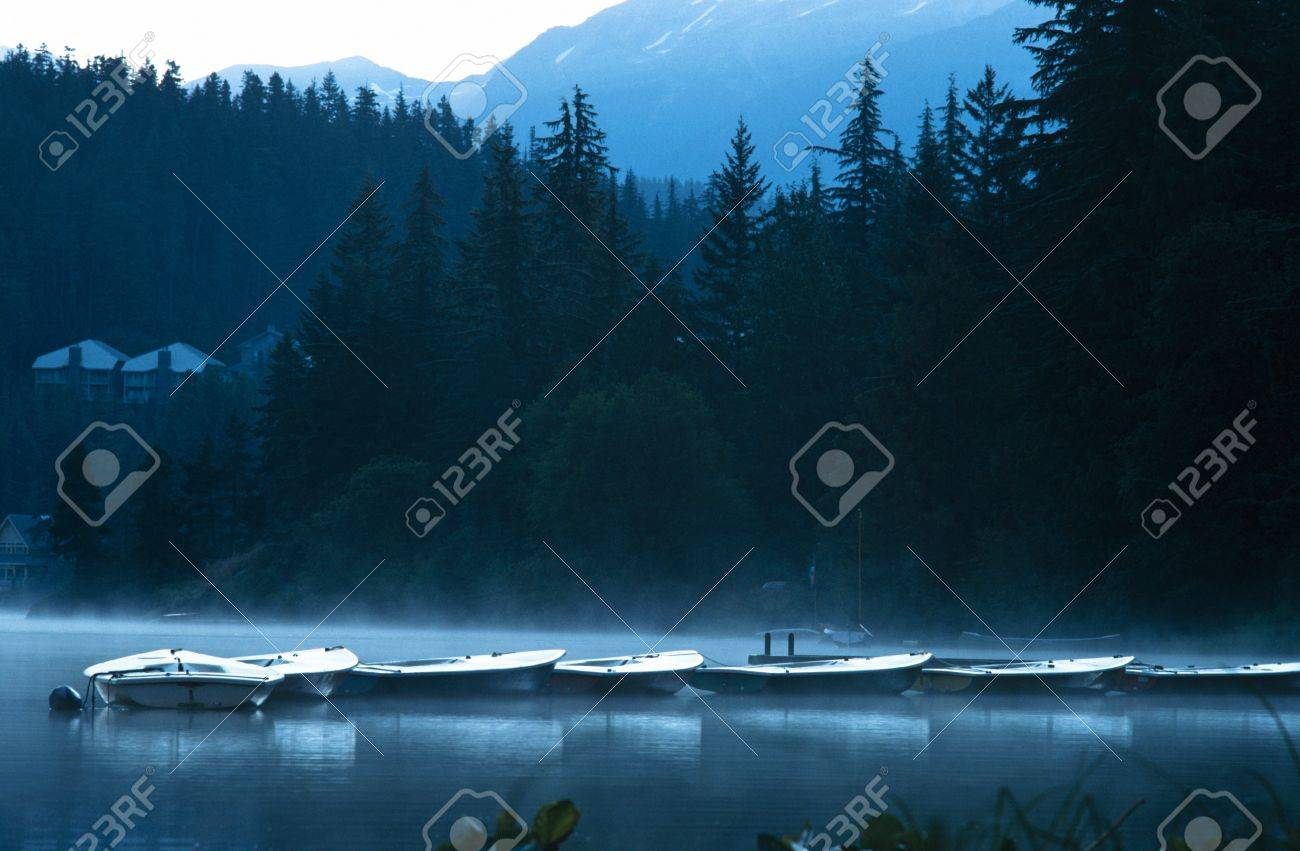 Boats in early morning Stock Photo - 7559464