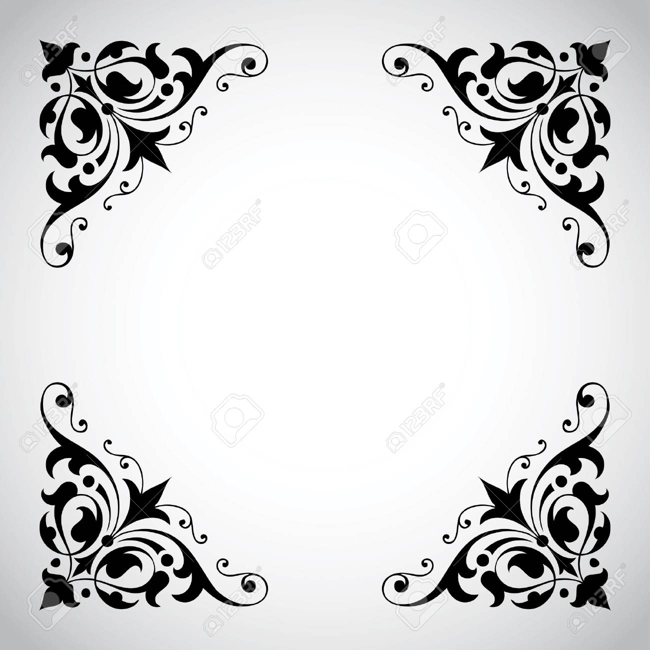 Decorative Vintage Frame with Copy Space - 9867908