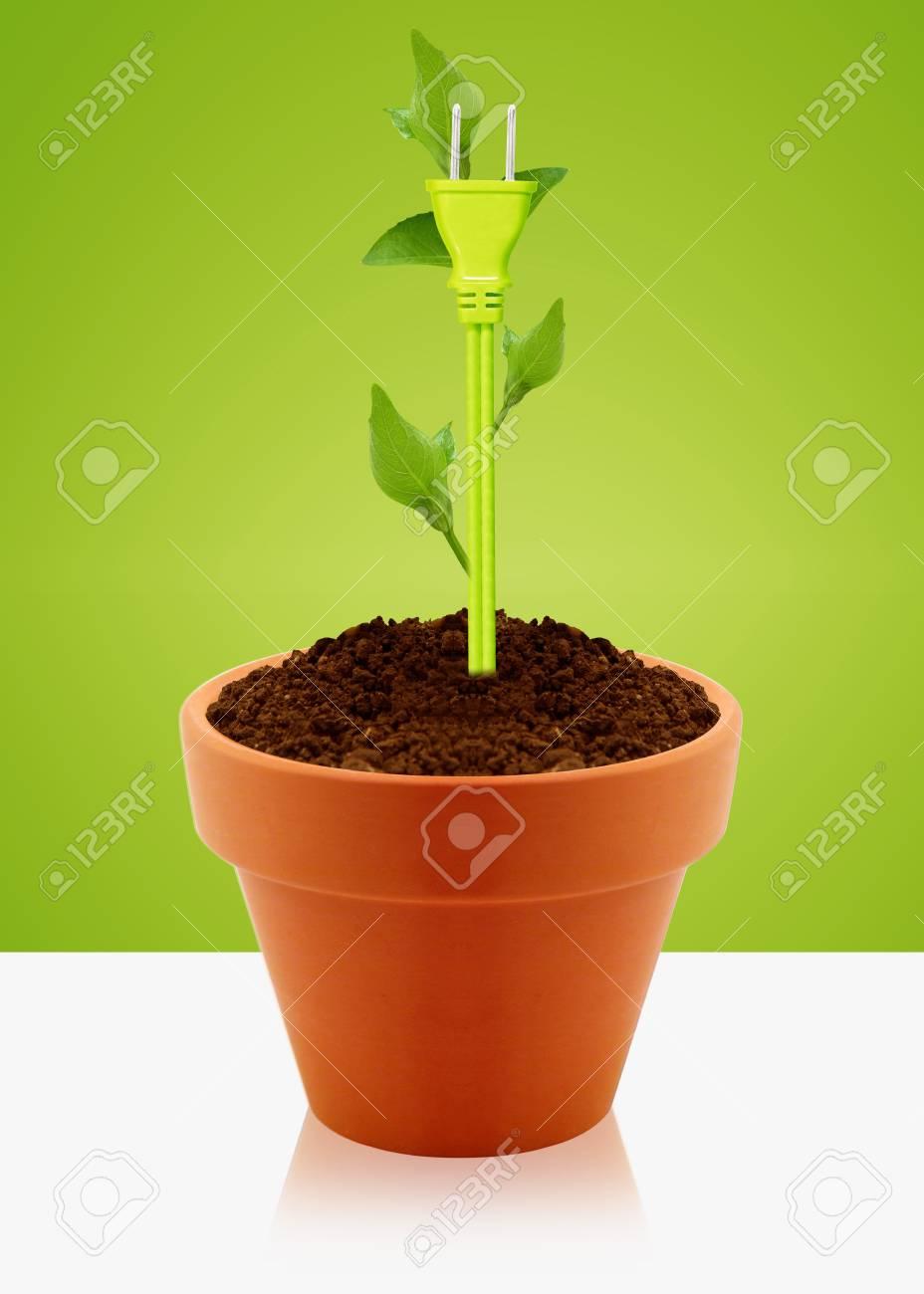 modern energy saving concept Stock Photo - 13299263