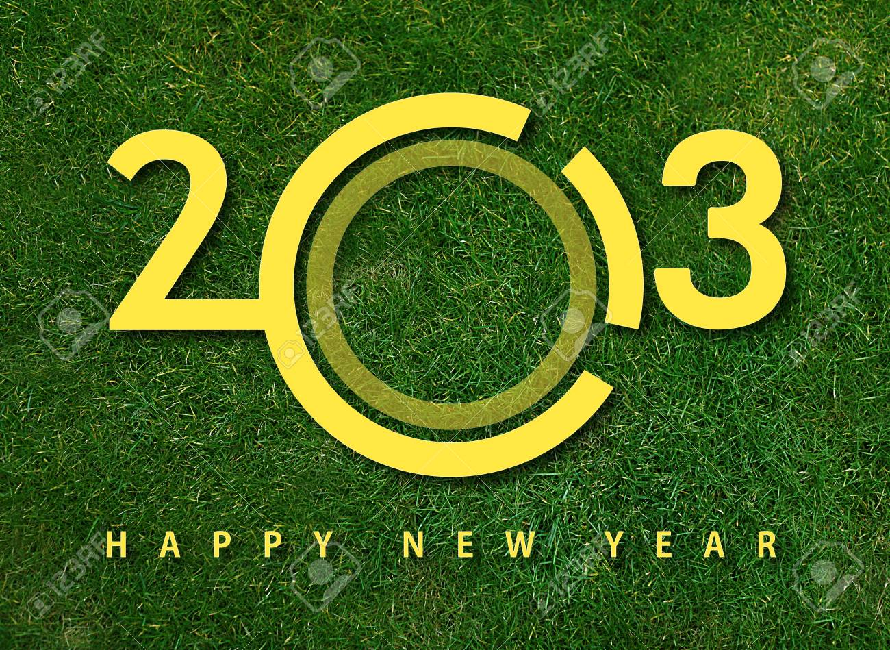 Happy new year 2013, new year conceptual image. Stock Photo - 15551324