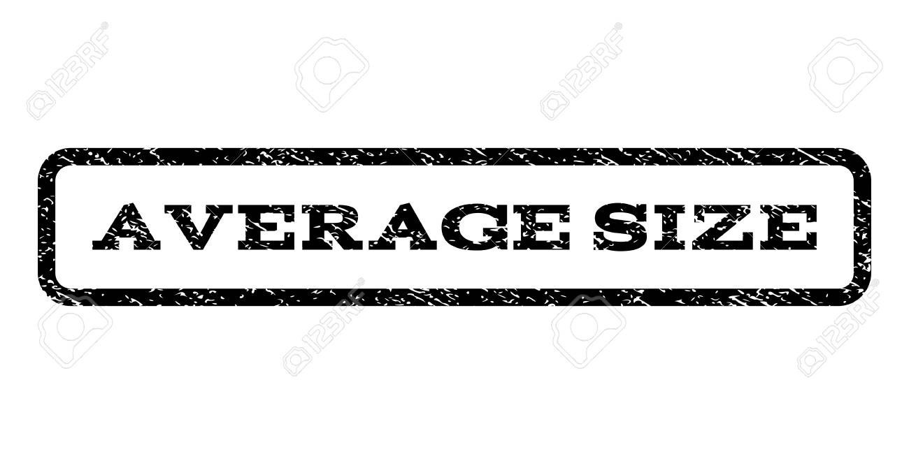 Average Size Watermark Stamp. Text Tag Inside Rounded Rectangle ...