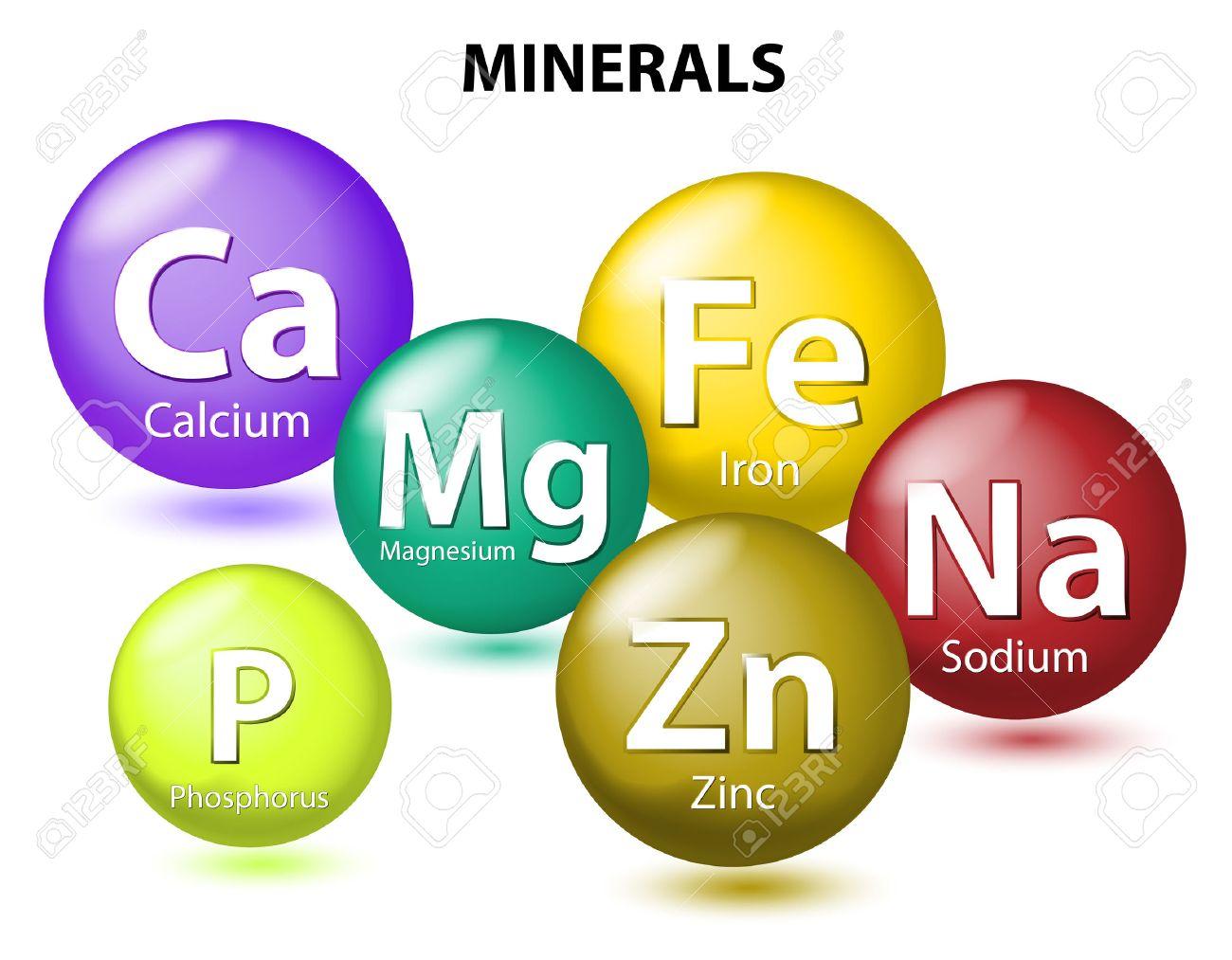 化学の必須ミネラルや栄養要素。ミネラル栄養素。ミネラルと微量 ...