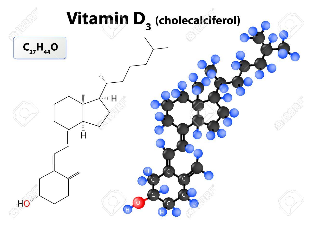 Vitamin A Structure Formula