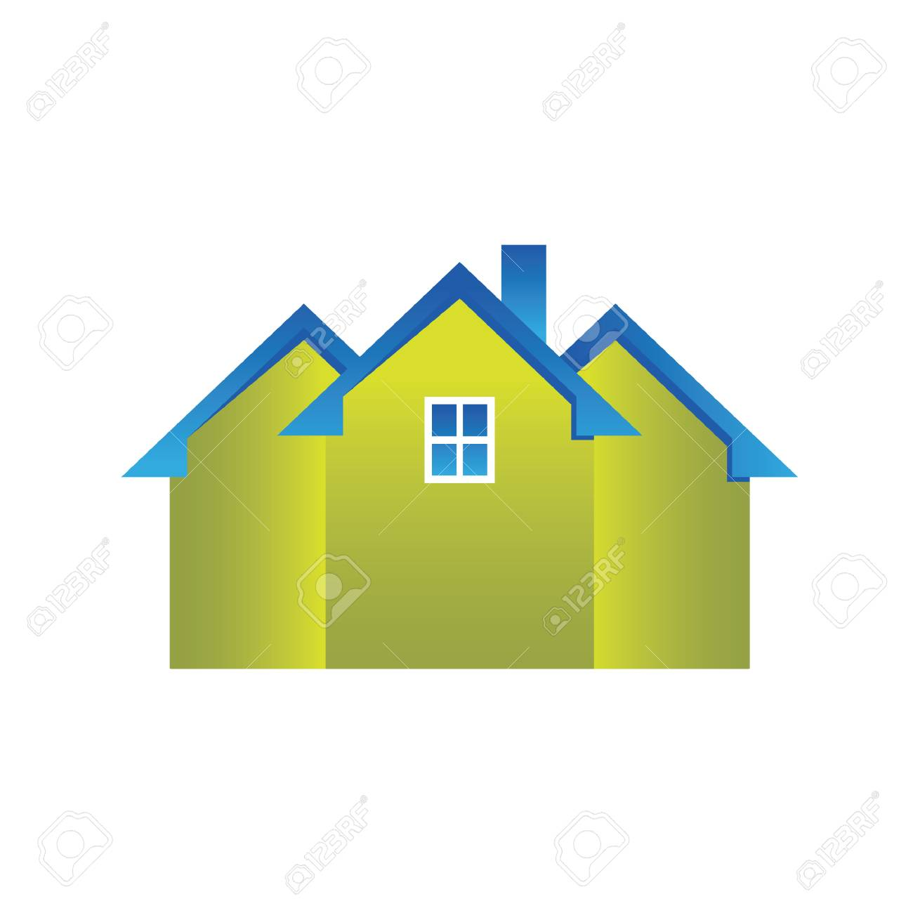 Houses Stock Vector - 8609742