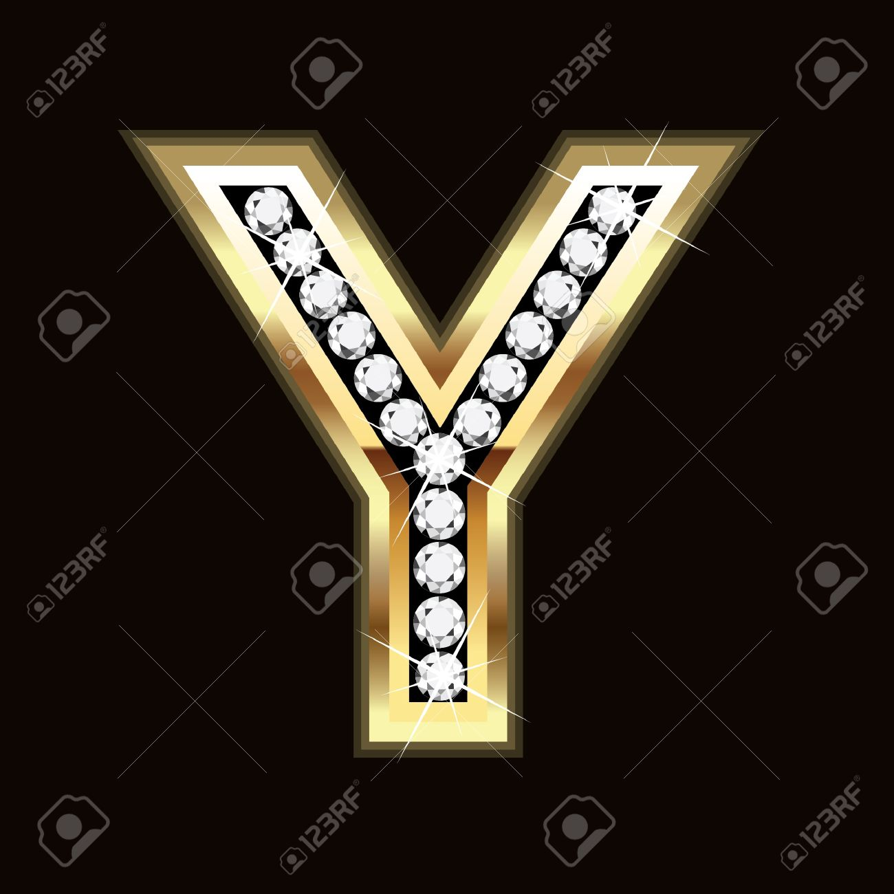 Y letter bling bling royalty free cliparts vectors and stock vector y letter bling bling thecheapjerseys Images