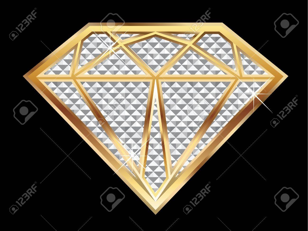 Diamond Stock Vector - 9835977