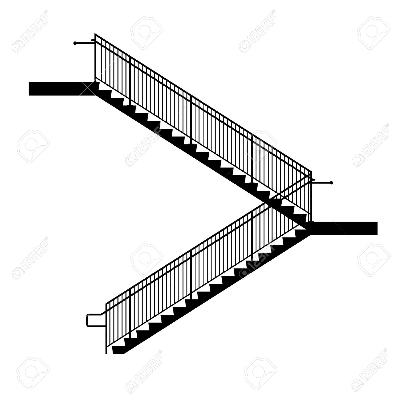 stairs royalty free cliparts vectors and stock illustration image rh 123rf com stairs clipart black and white grand staircase clipart