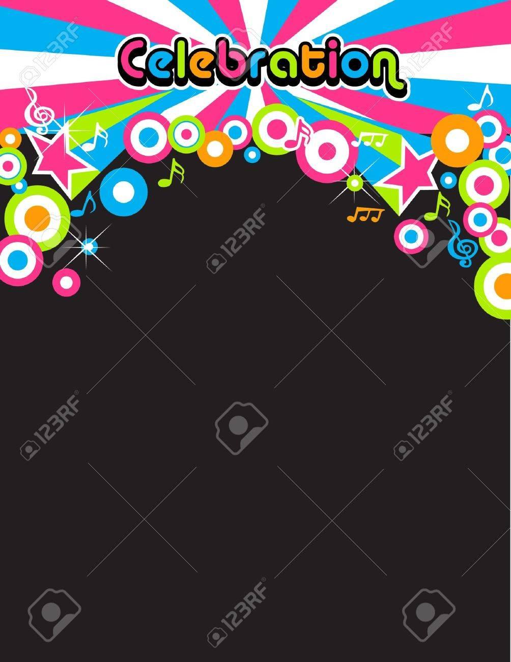 Celebration Party background Stock Vector - 11181494