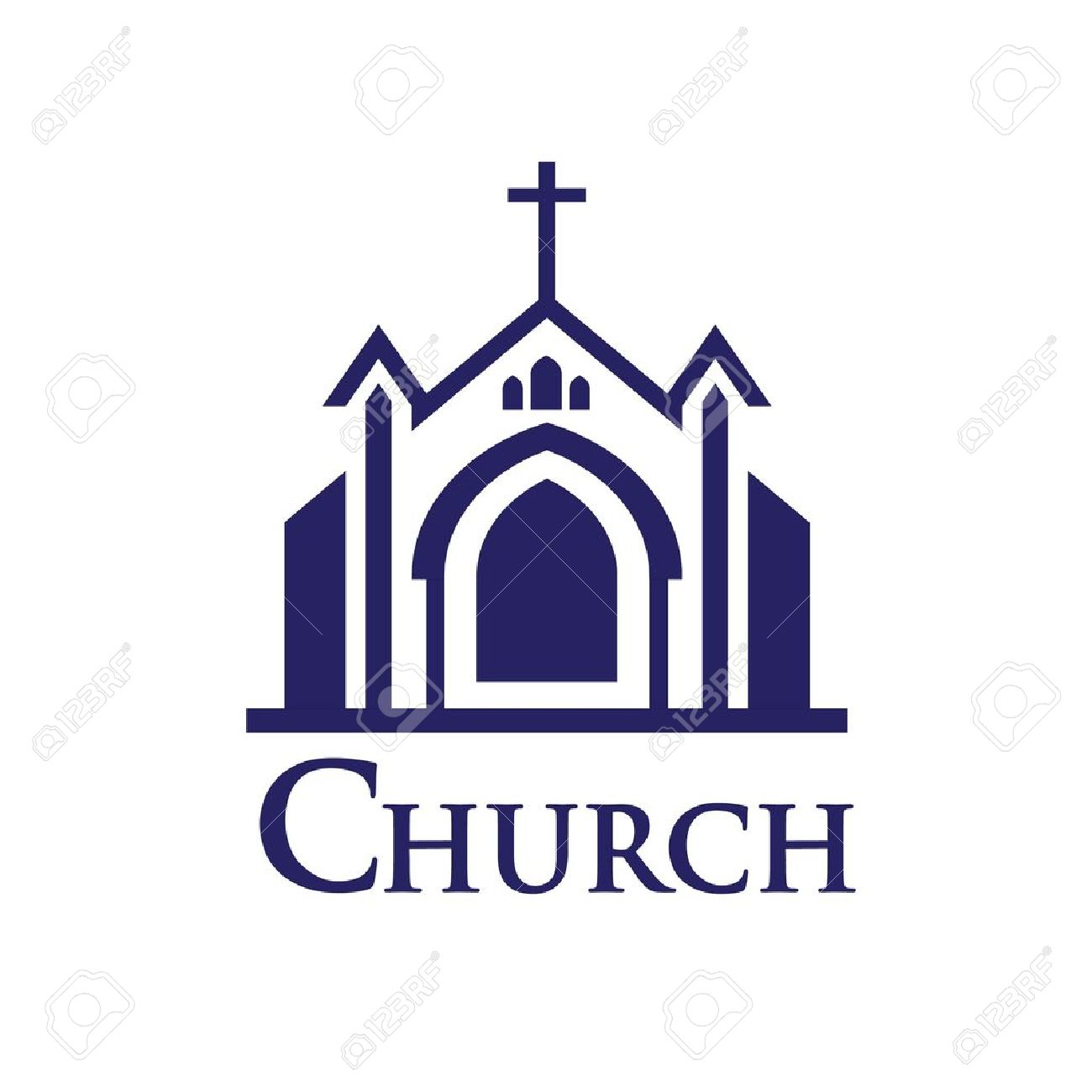 Church icon Stock Vector - 11181497