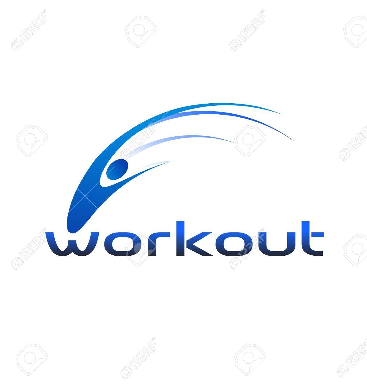 people workout swoosh logo royalty free cliparts vectors and stock rh 123rf com swoosh logo images swoosh login nike